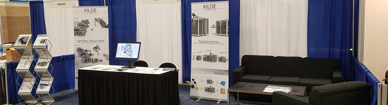 KIilde Automation Booth at SPE Conference in Texas